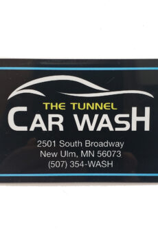The Tunnel Wash Card